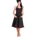 VESTIDO HELL BUNNY VANITY POLKA DOT DRESS