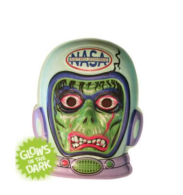 Radio Active Astro Zombie Vac-tastic Plastic Mask