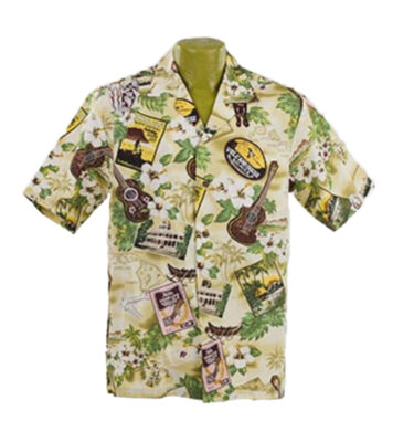 CAMISA HAWAIANA WINNIE FASHION KONA MUSIC