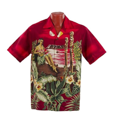 CAMISA HAWAIANA WINNIE FASHION HULA GIRL