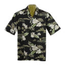 CAMISA HAWAIANA WINNIE FASHION WHITE ORCHID