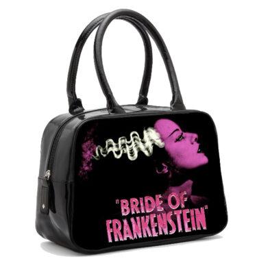 BOLSO UNIVERSAL MONSTER BRIDE OF FRANKENSTEIN BOWLER HANDBAG