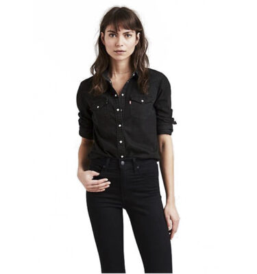 CAMISA LEVI'S® ULTIMATE WESTERN SHINY HAPPY PEOPLE BLACK