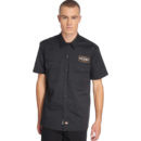 CAMISA DICKIES RINER TWILL WORK BLACK SHIRT