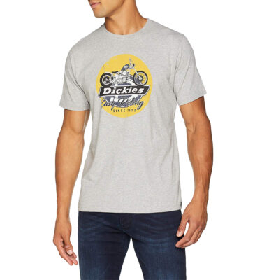 CAMISETA DICKIES MIDDLETOWN GREY MELANGE T-SHIRT