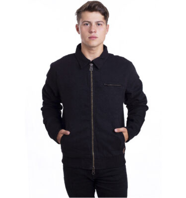 CAZADORA DICKIES BLACK UPPERGLADE ZIP JACKET