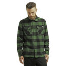 CAMISA DICKIES SACRAMENTO FLANNEL PINE GREEN COLOR