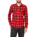 CAMISA LEE® WESTERN SHIRT SLIM FIT WARP RED