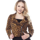 CAZADORA SOURPUSS LEOPARD MOTO JACKET
