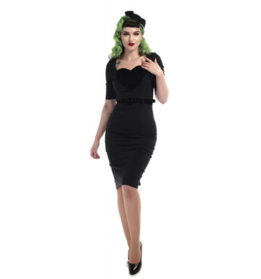 VESTIDO COLLECTIF MAINLINE OPHELIA PENCIL DRESS