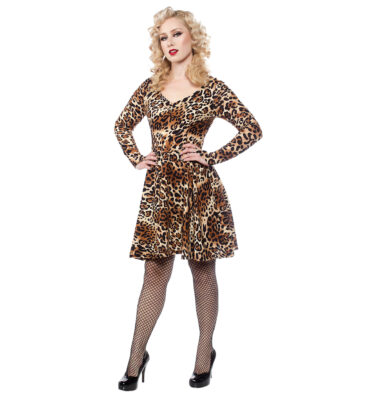 VESTIDO SOURPUSS LEOPARD ON THE PROWL DRESS