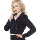CAZADORA SOURPUSS MOTO JACKET BLACK