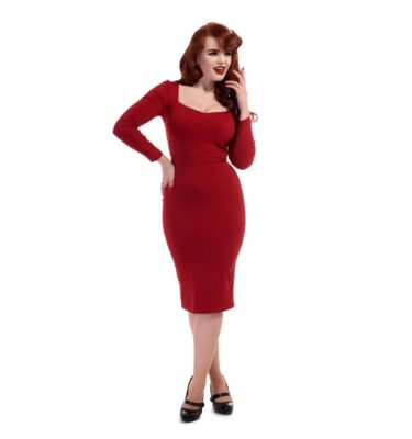 VESTIDO COLLECTIF MAINLINE HELENE PENCIL DRESS