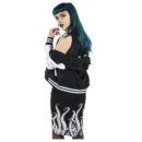 FALDA SOURPUSS TENTACLES PENCIL SKIRT