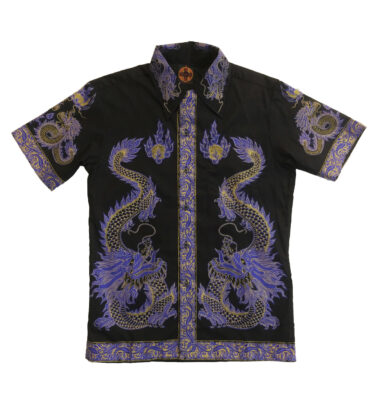 CAMISA CHENASKI PURPLE DRAGON RETRO SHIRT
