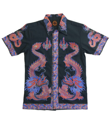 CAMISA CHENASKI ORANGE DRAGON RETRO SHIRT