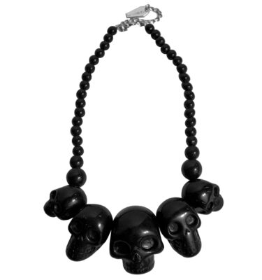 COLLAR KREEPSVILLE 666 SKULL COLLECTION NECKLACED