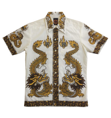 CAMISA CHENASKI YELLOW DRAGON RETRO SHIRT