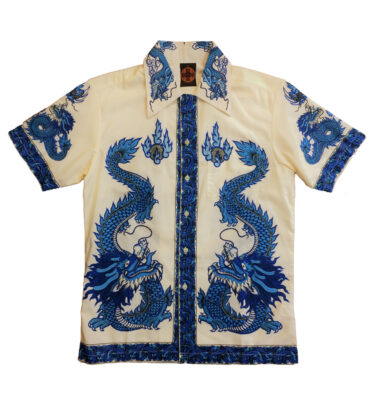 CAMISA CHENASKI BLUE DRAGON RETRO SHIRT