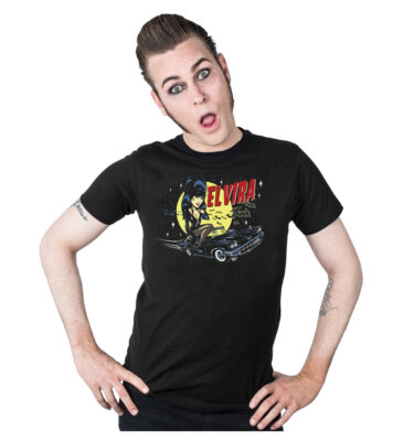 CAMISETA KREEPSVILLE 666 ELVIRA VINCE RAY MOBILE MENS T-SHIRT