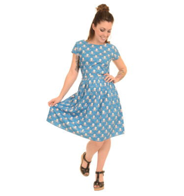 VESTIDO RUN & FLY UNDER THE SEA OCTOPUS DRESS