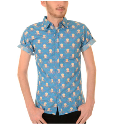 CAMISA RUN & FLY UNDER THE SEA OCTOPUS SHIRT