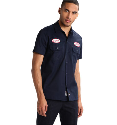 CAMISA DICKIES ROTONDA SOUTH SLIM FIT DARK NAVY