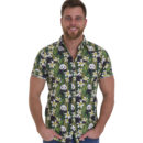CAMISA RUN & FLY RETRO GREEN PANDA BEAR SHIRT