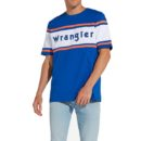 CAMISETA WRANGLER® CLRBLOCK LOGO TEE-TURKISH SEA