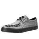 T.U.K. GRAPHITE LEATHER VLK SNEAKER