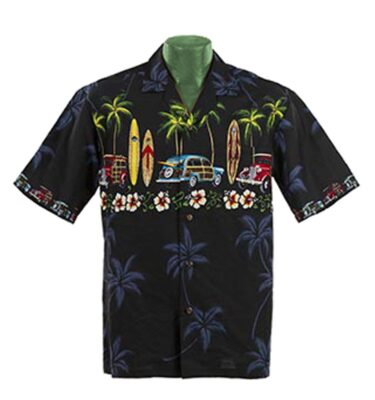 CAMISA HAWAIANA WINNIE FASHION CLASSIC WOODY