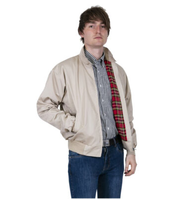 RELCO ORIGINAL UK HARRINGTON JACKET STONE