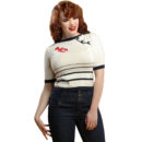 TOP COLLECTIF MAINLINE ARMANDA LOBSTER JUMPER