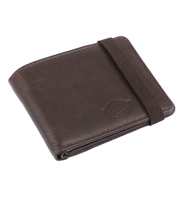 CARTERA DICKIES WILBURN WALLET EN CUERO MARRON