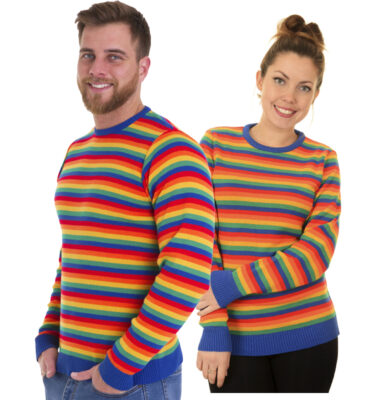 JERSEY RUN & FLY UNISEX RAINBOW BRIGHTS JUMPER