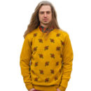 JERSEY RUN & FLY BEE JUMPER COLOR MUSTARD YELLOW