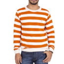 JERSEY CAPITÁN DENIM PREMIUM VINTAGE ORANGE & BONE ORGANIC COTTON