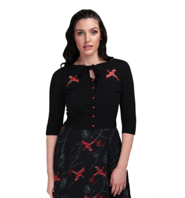 CARDIGAN COLLECTIF MAINLINE CHARLENE PHOENIX