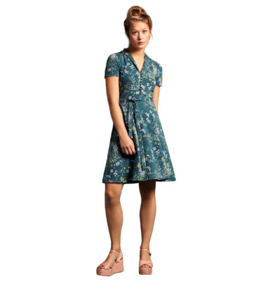 KING LOUIE EMMY DRESS GRIFFIN DRAGONFLY GREEN
