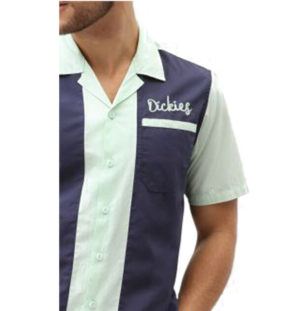 CAMISA DICKIES PULASKI MEN'S SHORT SLEEVED REVERE NAVY