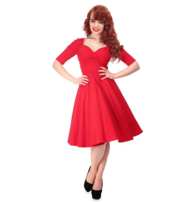 VESTIDO COLLECTIF TRIXIE RED DOLL DRESS
