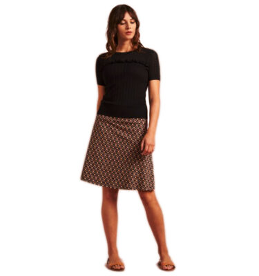 FALDA KING LOUIE BORDER SKIRT SIROCCO