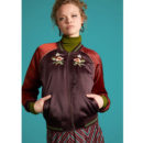 BOMBER KING LOUIE REVERSIBLE BOMBER JACKET CHERRYBIRD