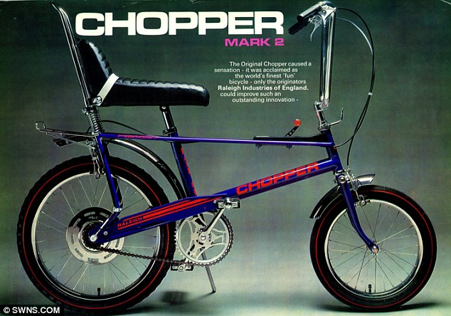 CHOPPER RALEIGH, LA BICI DE LOS EASY RIDERS ADOLESCENTES