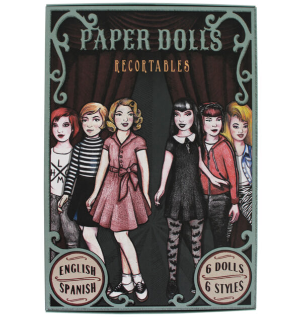 """PAPER DOLLS RECORTABLES URBAN STYLES - """"Little Monster"""""""