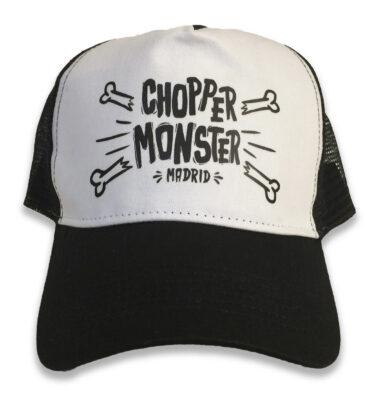 """TRUCKER CAP """"HUESETES"""" CHOPPER MONSTER NEGRA"""
