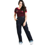 PANTALON VAQUERO HELL BUNNY WESTON DENIM JEANS
