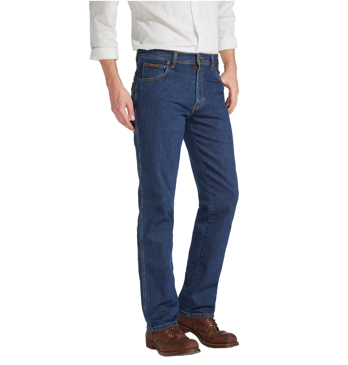 Pantalon Vaquero Wrangler Texas Original Straight Darkstone