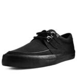 T.U.K. BLACK BASIC TWILL D-RING VLK SNEAKER