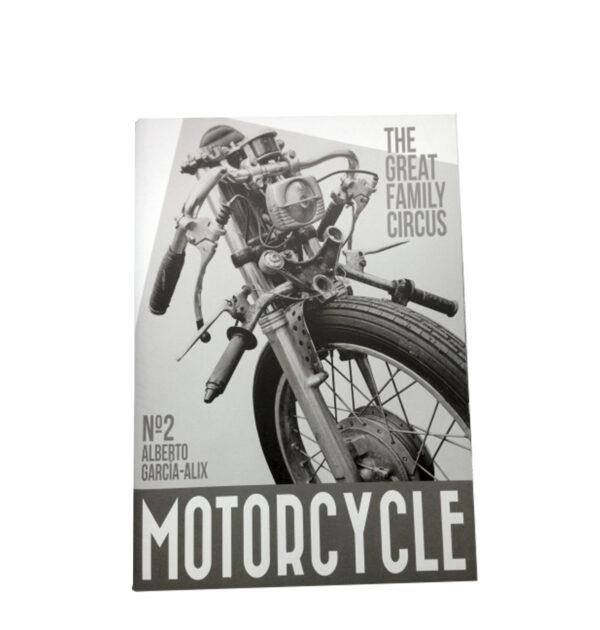 REVISTA MOTORCYCLE FAMILYN CIRCUS Nº2, ALBERTO GARCÍA-ALIX